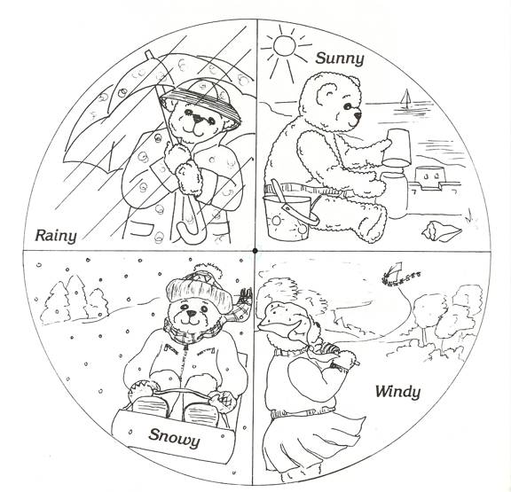 the 4 seasons coloring pages photo31 - 4 Seasons Coloring Page
